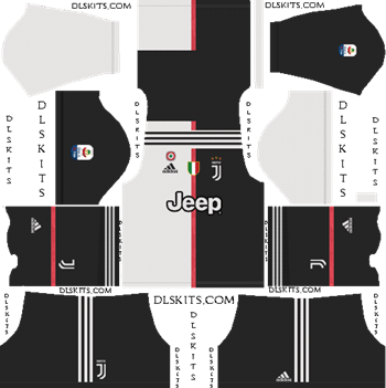 3e166a5bc Juventus Home Kit 2019-2020 - DLS 19 Kits - Dream League Soccer Kits URL