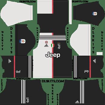 Juventus F.C. 2019-2020 Dream League Soccer Kits & Logo