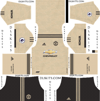 Dream League Soccer Kits Manchester United Away Kit 2019-20