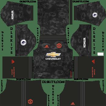 Dream League Soccer Kits Manchester United Third Kit 2019-20