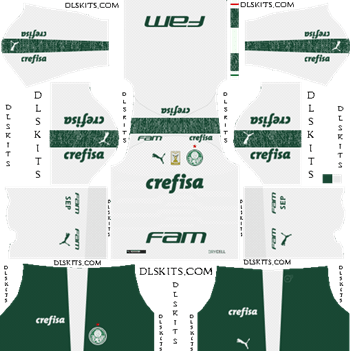 Palmeiras Away Kit 2019 - DLS 19 Kits - Dream League Soccer Kits URL 512x512