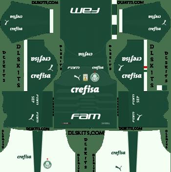 Palmeiras Home Kit 2019 - DLS 19 Kits - Dream League Soccer Kits URL 512x512