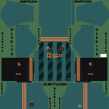 Dream League Soccer Kits AFC Ajax Away Kit 2019