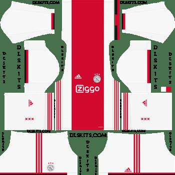 Dream League Soccer Kits AFC Ajax Home Kit 2019