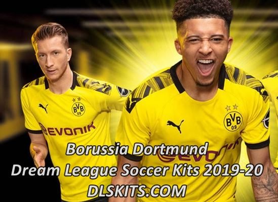 Borussia Dortmund 2019-2020 Dream League Soccer Kits & Logo
