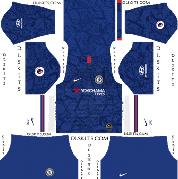 Dream League Soccer Kits Chelsea FC Home 2019 Kit