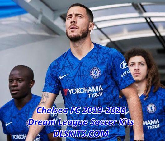 Chelsea Fc Latest News: Chelsea FC 2019-2020 Dream League Soccer Kits & Logos