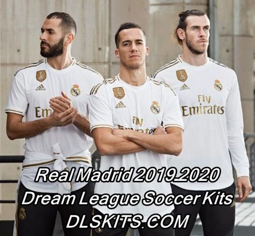 Real Madrid 2019 2020 Dream League Soccer Kits Logos