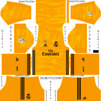 Dream League Soccer Kits Real Madrid 2019-20 Goalkeeper Home Kit