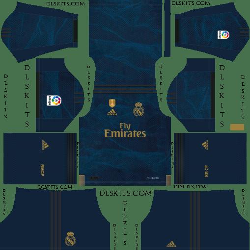 Dream League Soccer Real Madrid Away Kit 2019-20