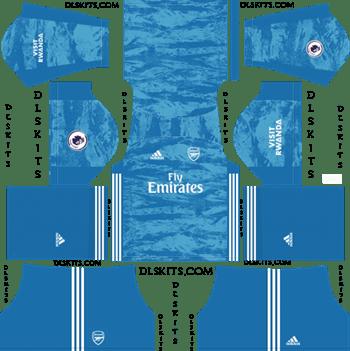 Dream League Soccer Kits Arsenal Goalkeeper Away Kit 2019-20