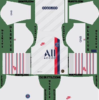Dream League Soccer Kits PSG Third Kit 2019-20