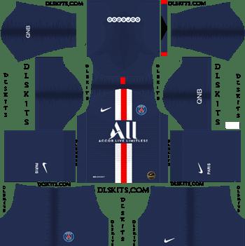 Dream League Soccer Kits Paris Saint Germain 2019-20 Home Kit