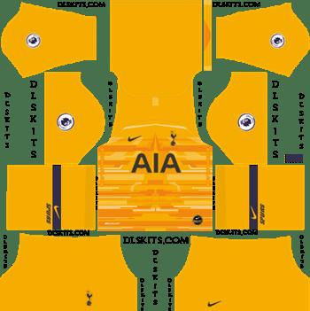 Tottenham Hotspur 2019 2020 Dream League Soccer Kits