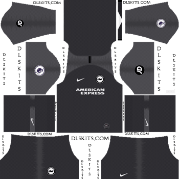 Dream League Soccer Kits Brighton FC Away Kit 2019-20