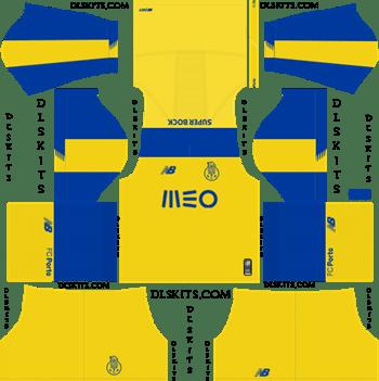 Dream League Soccer Kits FC Porto Away Kit 2019-20