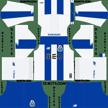 Dream League Soccer Kits FC Porto Home Kit 2019-20