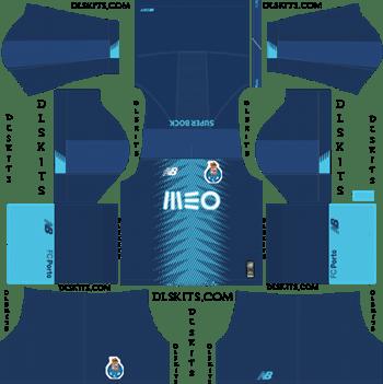 Dream League Soccer Kits FC Porto Third Kit 2019-20