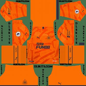 Dream League Soccer Kits Newcastle United FC Third Kit 2019