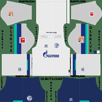 Schalke 04 Away Kit 2019 - Dream League Soccer Kits