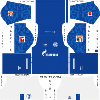 Schalke 04 Home Kit 2019- Dream League Soccer Kits