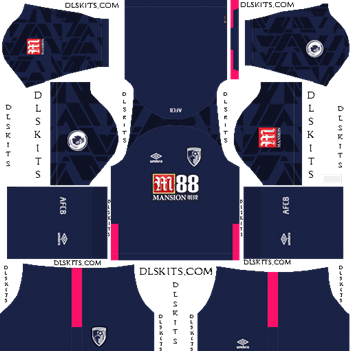 Dream League Soccer Kits AFC Bournemouth Away Kit 2019-20