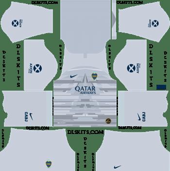 Dream League Soccer Kits Boca Juniors Goalkeepr Home Kit 2019-2020