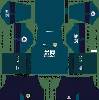 Dream League Soccer Kits`Burnley FC Third Kit 2019-20