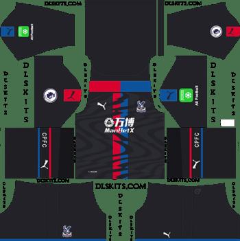 Crystal Palace FC Away Kit 2019-20 Dream League Soccer Kits