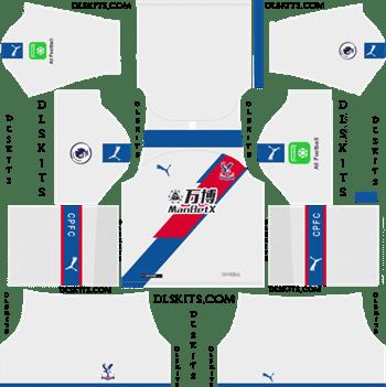 Crystal Palace FC Third Kit 2019-20 Dream League Soccer Kits