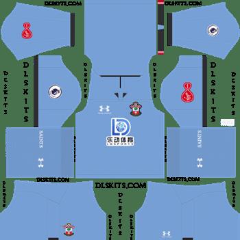Southampton FC Goalkeeper Home Kit 2019-2020 Dream League Soccer Kits