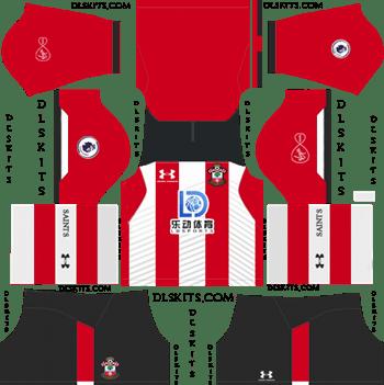 Southampton FC Home Kit 2019-2020 Dream League Soccer Kits