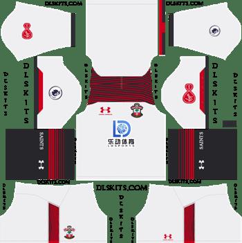 Southampton FC Third Kit 2019-2020 Dream League Soccer Kits