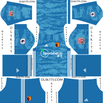 Dream League Soccer Kits Watford FC Goalkeeper Home Kit 2019-20