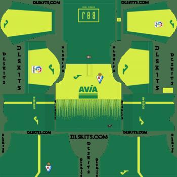 SD Eibar Away Kit 2019 Dream League Soccer Kits