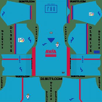SD Eibar Third Kit 2019 Dream League Soccer Kits