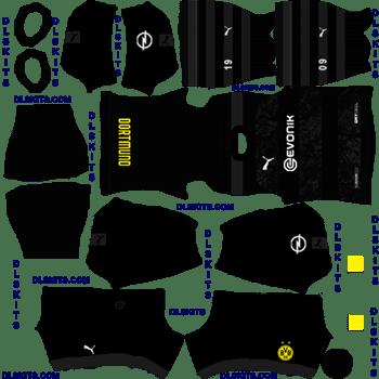 Borussia Dortmund 2020 21 Dream League Soccer Kits