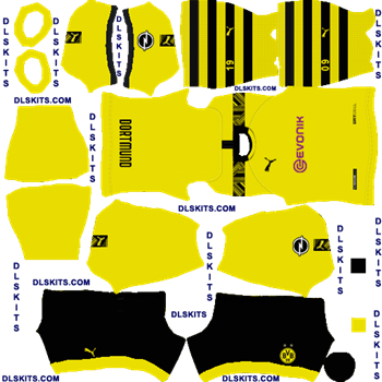 Borussia Dortmund 2020 21 Dream League Soccer Kits