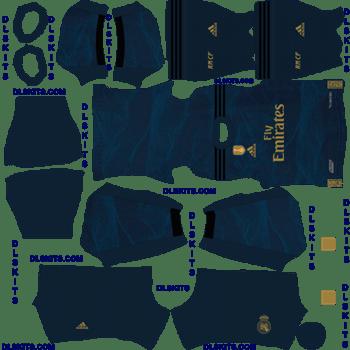 Real Madrid 2019 Away Kit Dream League Soccer 2020