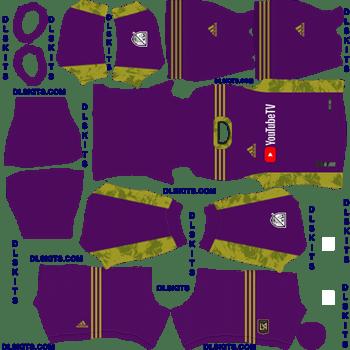 LAFC 2020 Goalkeeper Away Dream League Soccer Kits