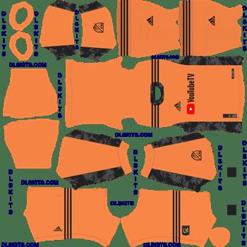 LAFC 2020 Goalkeeper Home Dream League Soccer Kits