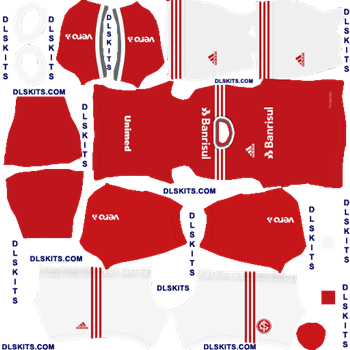 SC Internacional 2020 Home Dream League Soccer Kits