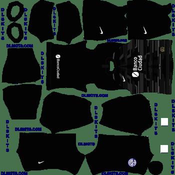 San Lorenzo Goalkeeper Away Dream League Soccer Kits 2020
