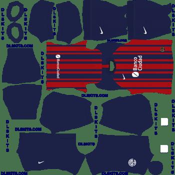 San Lorenzo Home Dream League Soccer Kits 2020