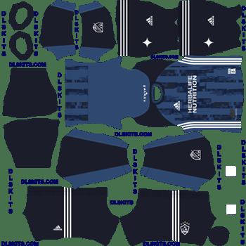 LA Galaxy 2020 Away Dream League Soccer Kits