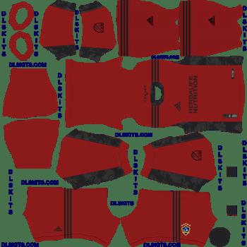 LA Galaxy 2020 Goalkeeper Home Dream League Soccer Kits