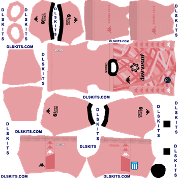 Racing Club 2020 Goalkeeper Away Dream League Soccer Kits