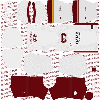 AS Roma Away Kit 2020 - Dream League Soccer Kits - DLS 20 Kits
