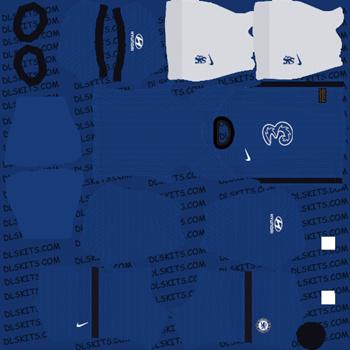 Chelsea FC Home Kit - Dream League Soccer Kits - DLS 20 Kits