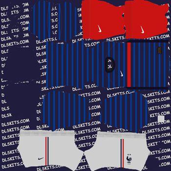 France Home Kit 2020 - Dream League Soccer Kits 2020 - DLS 20 Kits